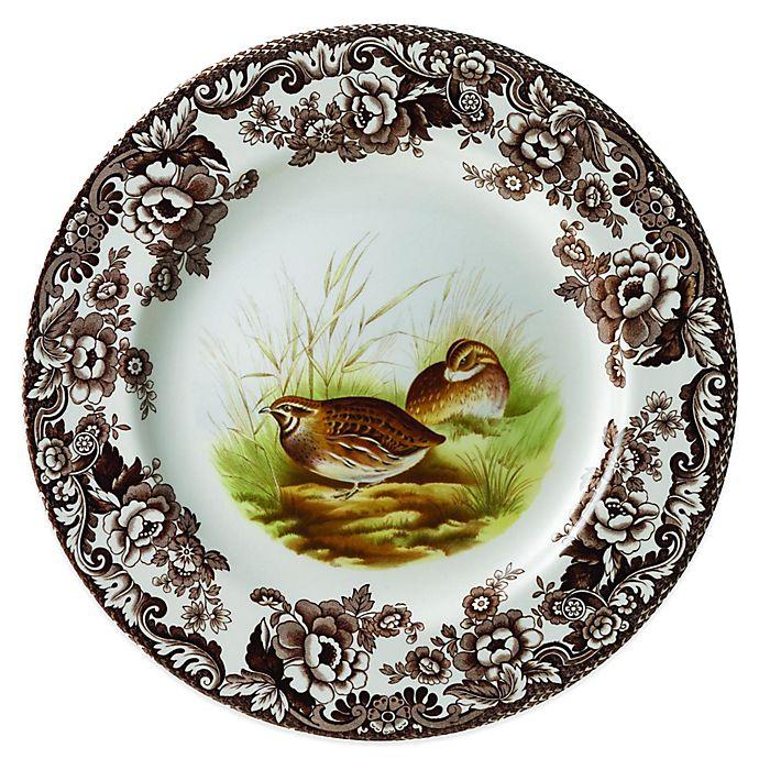 Alternate image 1 for Spode® Woodland Quail Salad Plate
