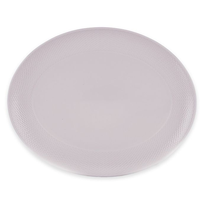 Alternate image 1 for Lenox® Largo Oval Platter in Wisteria