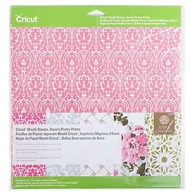 Cricut® Anna's Pretty Prints Washi Sheets (Set of 5)