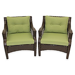 Stratford 4-Piece Outdoor Replacement Cushion Set