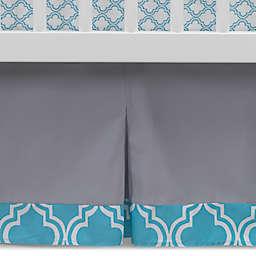 Lambs & Ivy® Mix & Match Ryan Pleated Crib Skirt in Grey