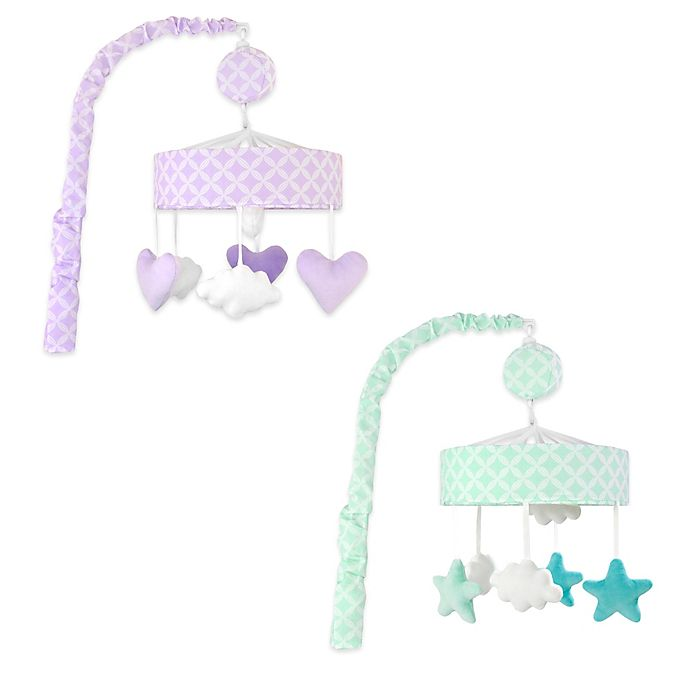 Alternate image 1 for Just Born® Mix & Match Classic Collection Shapes Musical Mobile