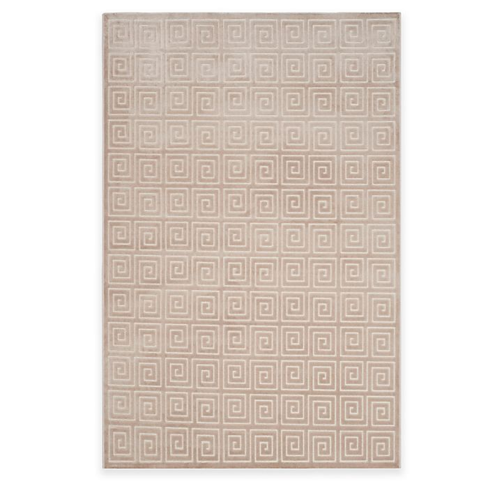 Alternate image 1 for Safavieh Paradise Greek Key Rug in Crème