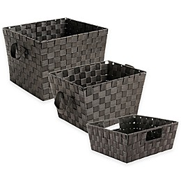 SALT™ Woven Storage Bin in Espresso