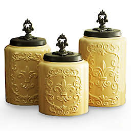 American Atelier 3-Piece Antique Canister Set