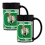 NBA Boston Celtics Metallic Coffee Mugs (Set of 2)