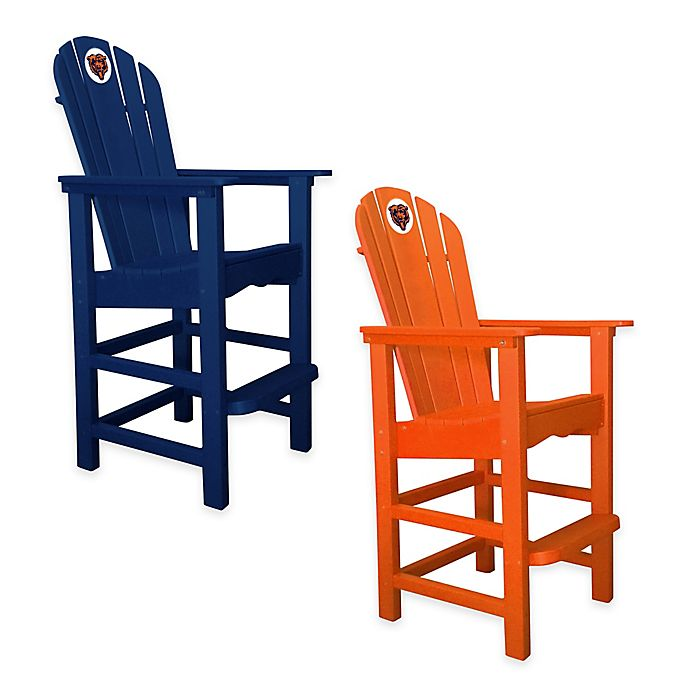 buy online 2aad1 f2fcd NFL Chicago Bears Pub Captains Chair | Bed Bath & Beyond