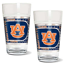 Auburn University Metallic Pint Glass (Set of 2)