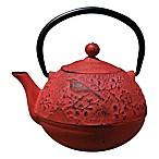 Old Dutch International Unity® 24 oz.  Suzume  Teapot in Red