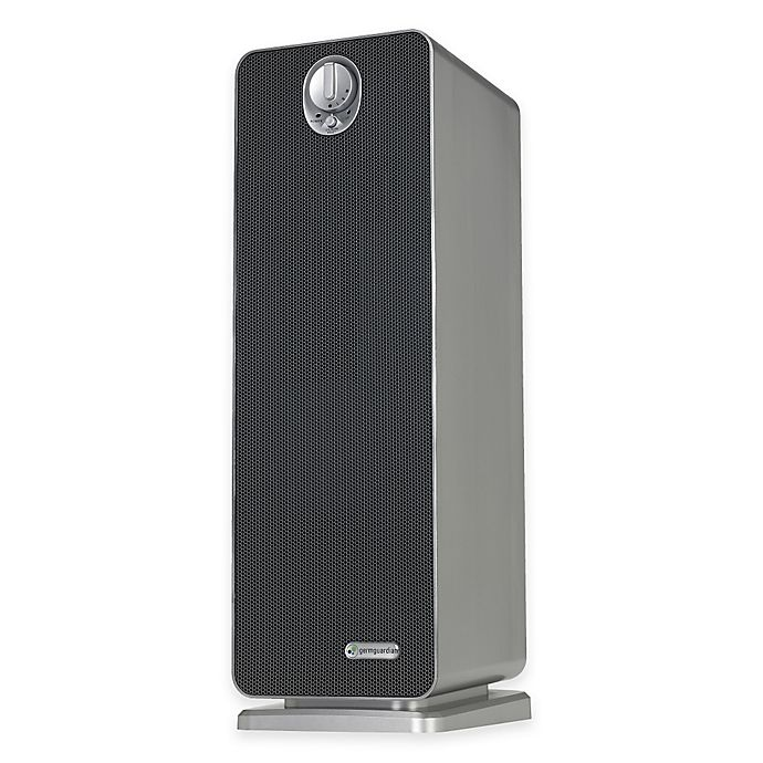 Alternate image 1 for GermGuardian® HEPA Tower with UV-C Air Purifier