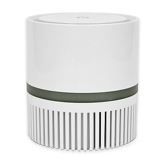 Alternate image 1 for Therapure® 360 HEPA Compact Air Purifier in Grey