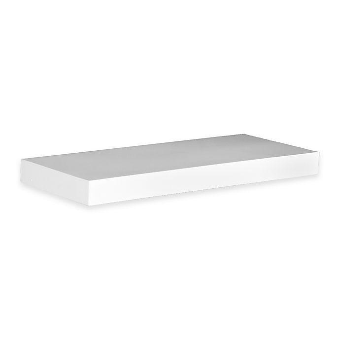 Alternate image 1 for Southern Enterprises Chicago 36-Inch Floating Shelf in White