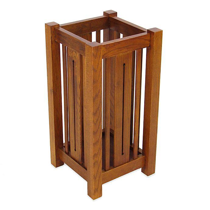 Alternate image 1 for Wayborn Wooden Umbrella Stand