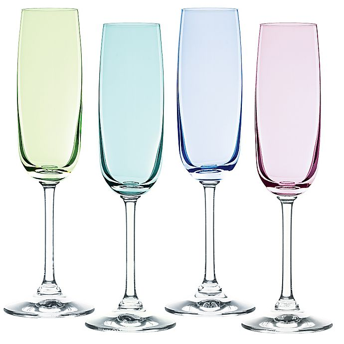 Marquis 174 By Waterford Vintage Ombre Champagne Flutes Set