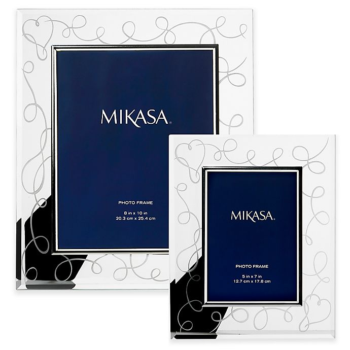 Mikasa Love Story Crystal Picture Frame Bed Bath Beyond
