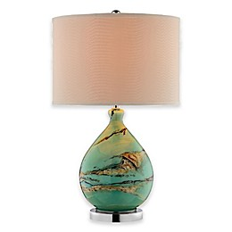 Stein World Morenci Table Lamp with Linen Shade