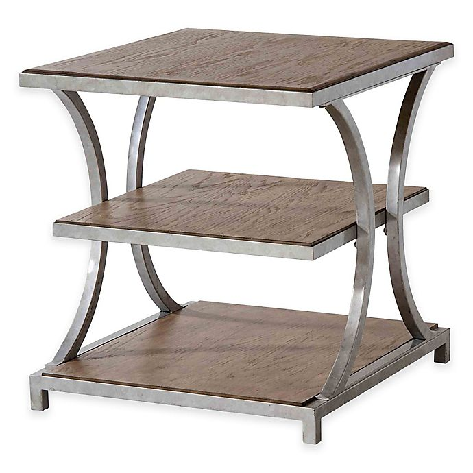 Alternate image 1 for Stein World Palos Heights End Table in Weathered Oak