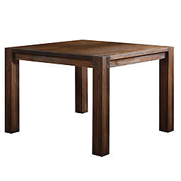 Modus Furniture Meadow Square Counter Table in Brick