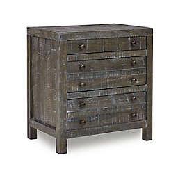 Modus Furniture Oxford Nightstand in Basalt Grey