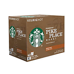 Starbucks® Pike Place® Roast Coffee Keurig® K-Cup® Pods Value Pack 40-Count