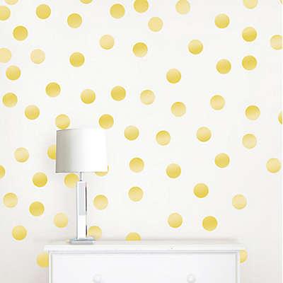 WallPops!® Metallic Gold Confetti Dots Wall Decals