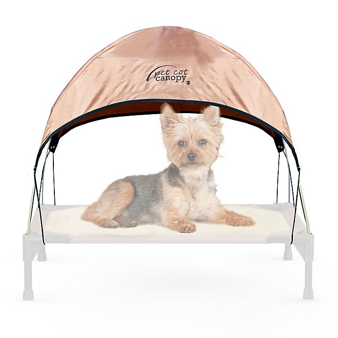 Alternate image 1 for K&H Small Pet Cot Canopy™ in Tan