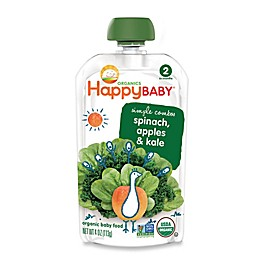 Happy Baby™ 3.5 oz. Stage 2 Organic Baby Food with Apple, Spinach and Kale