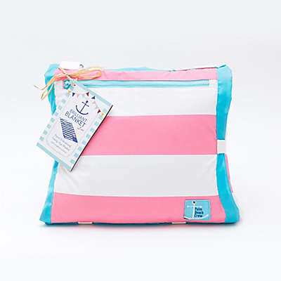 Buggygear™ 5-Foot x 7-Foot Waterproof Brilliant Blanket™ in Cabana Pink