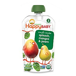 Happy Baby™ 3.5 oz. Stage 2 Organic Baby Food in Spinach, Mango & Pear