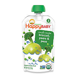 Happy Baby™ Stage2 Starting Solids in Peas, Broccoli, and Pears