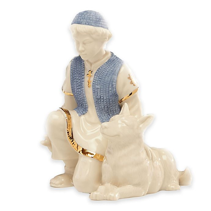 Alternate image 1 for Lenox® First Blessing Nativity™ Shepherd Boy with Dog Figurine