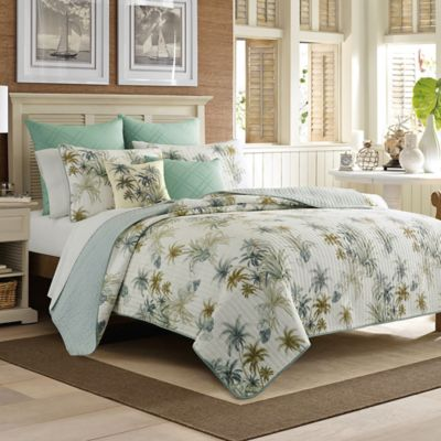 astounding tommy bahama bedroom furniture white | Tommy Bahama® Serenity Palms Quilt | Bed Bath & Beyond
