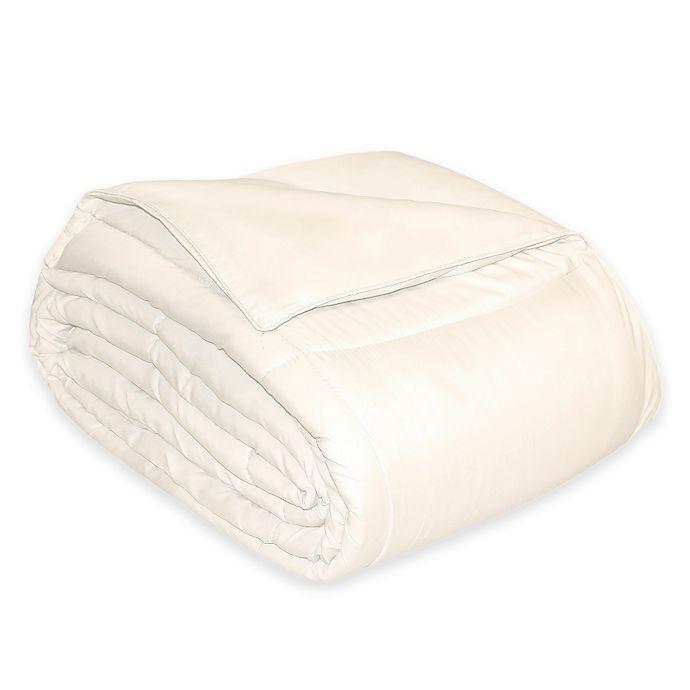 Alternate image 1 for Microfiber Down Alternative King Comforter in Ivory