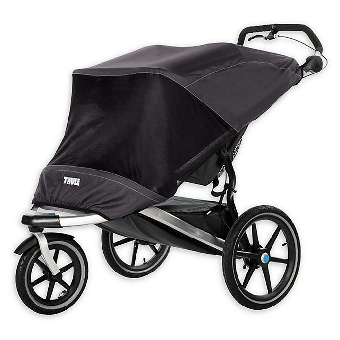 Alternate image 1 for Thule® Mesh Sun and Wind Cover in Black for Urban Glide 2 Sport Stroller