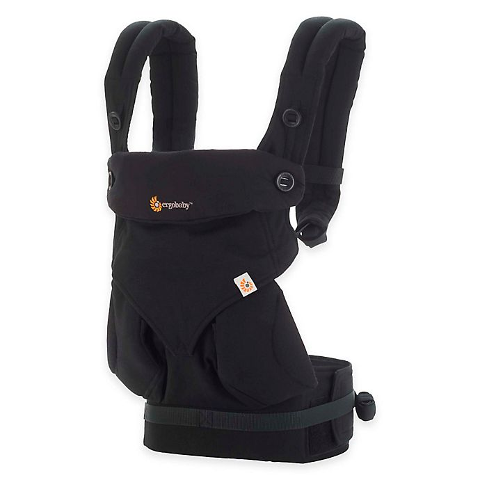 Alternate image 1 for Ergobaby™ Four-Position 360 Baby Carrier in Pure Black