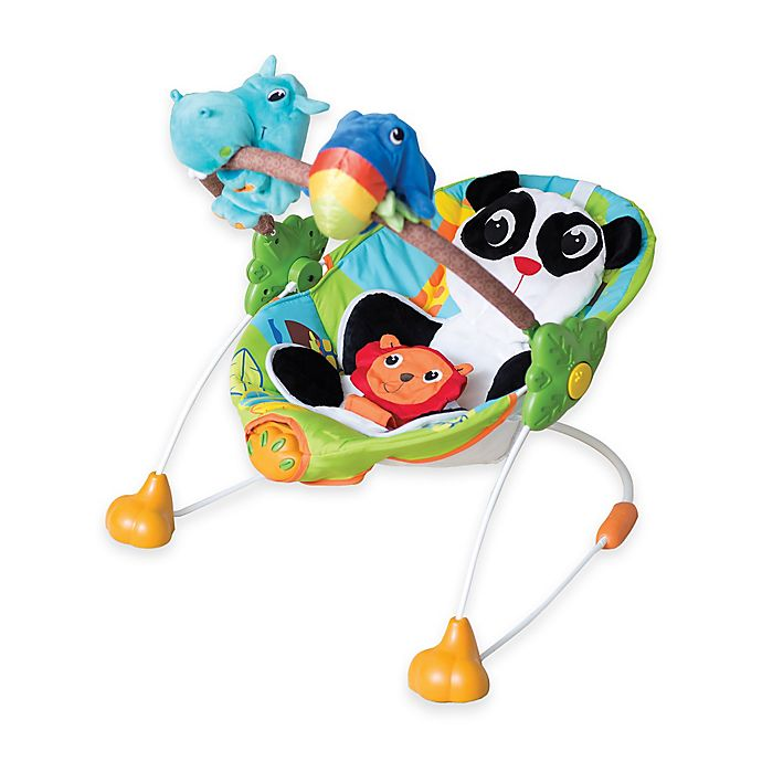 Alternate image 1 for Kiddopotamus® Safari So Good Puppeteer Bouncer