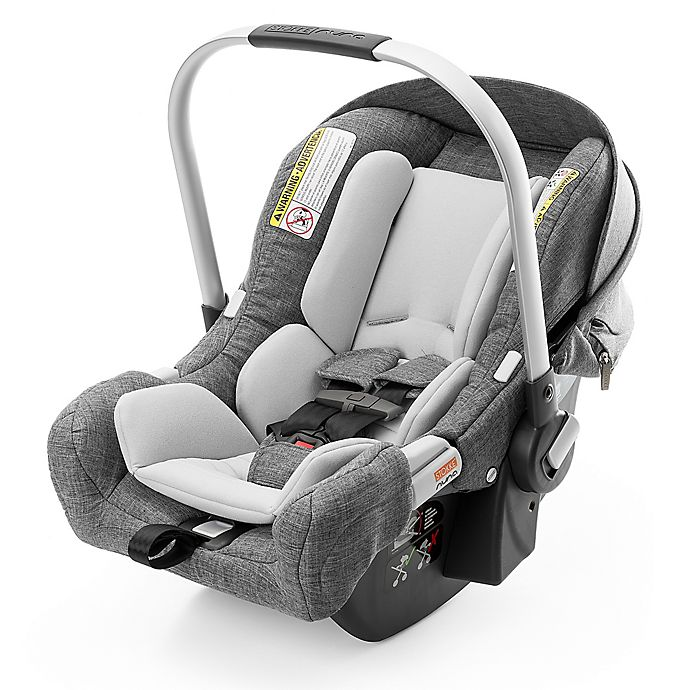 Alternate image 1 for Stokke® PIPA™ by Nuna® Infant Car Seat with Base in Black Melange