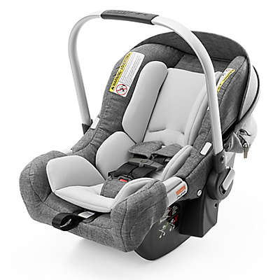 Stokke® PIPA™ by Nuna® Infant Car Seat with Base in Black Melange