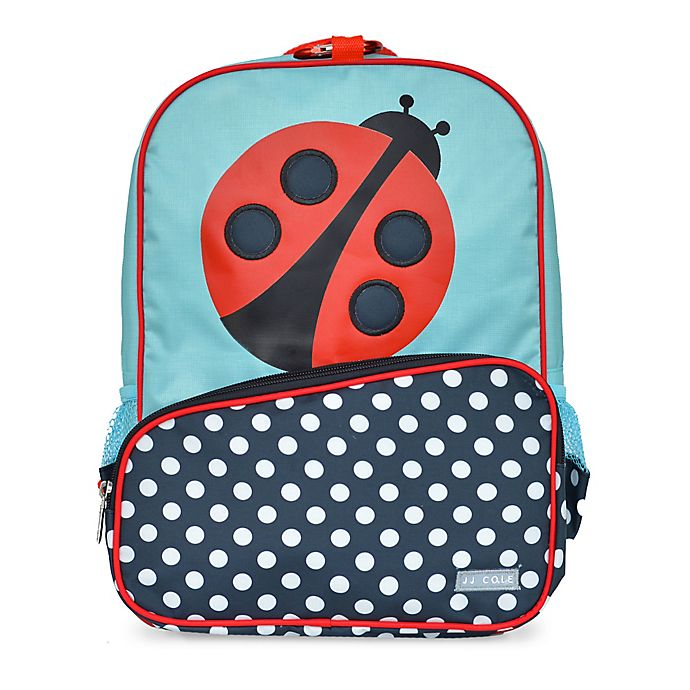 Alternate image 1 for JJ Cole® Ladybug Toddler Backpack