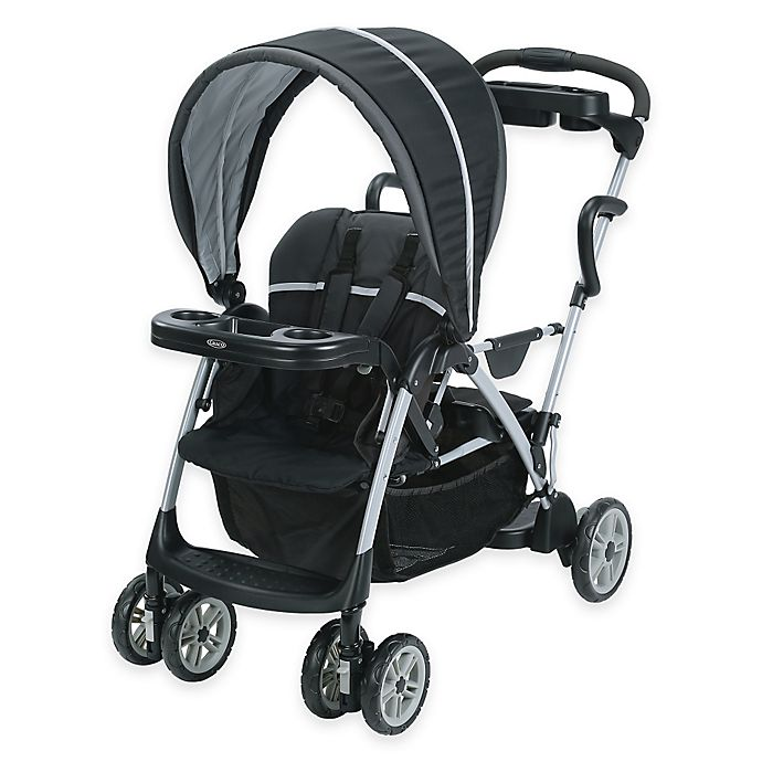 Alternate image 1 for Graco RoomFor2™ Classic Connect™ & Click Connect™ Stroller in Gotham™