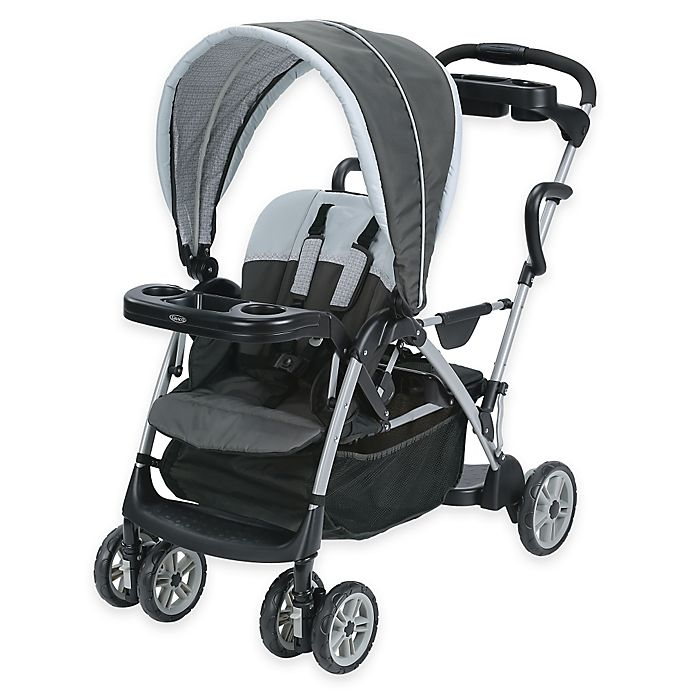 Alternate image 1 for Graco RoomFor2™ Classic Connect™ & Click Connect™ Stroller in Glacier™