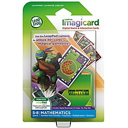LeapFrog® LeapPad Teenage Mutant Ninja Turtles Imagicard