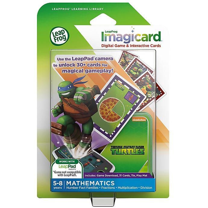 Alternate image 1 for LeapFrog® LeapPad Teenage Mutant Ninja Turtles Imagicard