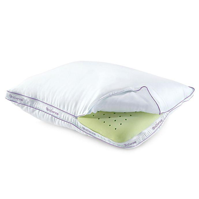 Brookstone 174 Biosense Memory Foam Classic Pillow With