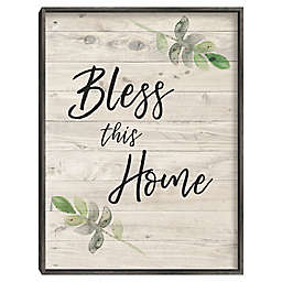 Masterpiece Art Gallery Bless This Home Wall Decor