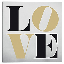 Love 24-Inch Square Canvas Wall Art