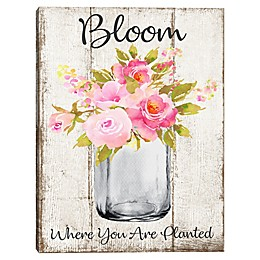 Bloom 18-Inch x 24-Inch Canvas Wall Art