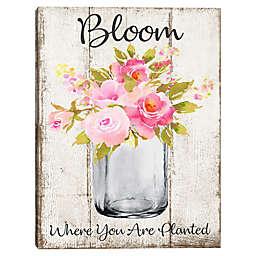 Bloom 18-Inch x 24-Inch Canvas Wall Art