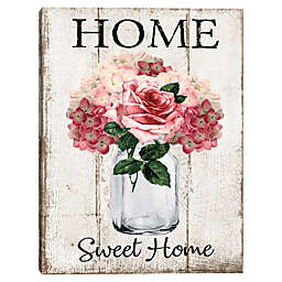 Home Bloom 18-Inch x 24-Inch Canvas Wall Art