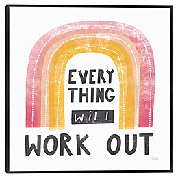 Everything Will Work Canvas Wall Art